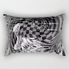 Orders of simplicity series: Lost Rectangular Pillow