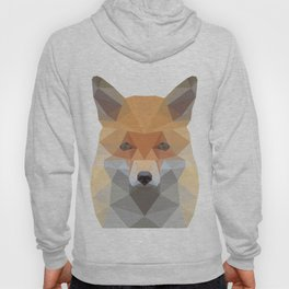 Fox Abstract Low Poly Hoody