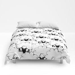 Count Sheep 1 Comforters