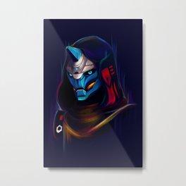 NEON Cayde-6 fan art Metal Print