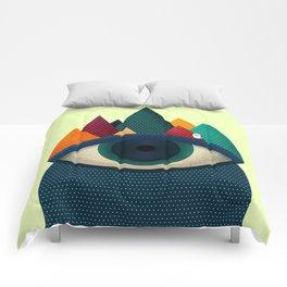 068 - I've seen it owl Comforters
