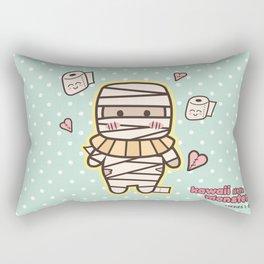Kawaii Little Mummy Rectangular Pillow