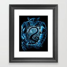 Son of Odin Framed Art Print