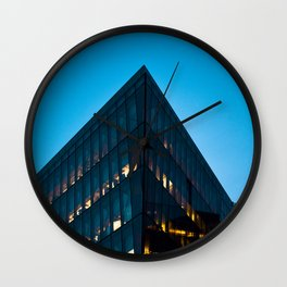 Silicon dock 2 Wall Clock