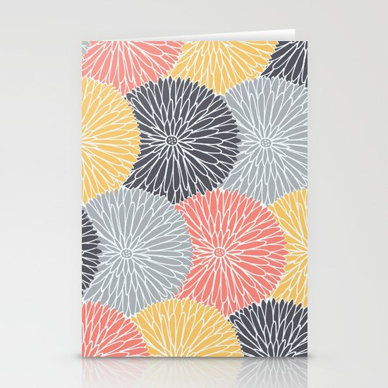Flower Infusion Stationery Cards