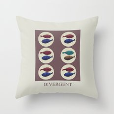 Divergent Throw Pillow