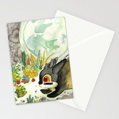 Moonlight (With Jackalopes) Stationery Cards