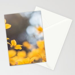 Dreaming in yellow Stationery Cards