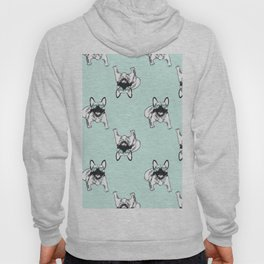 Soft turquoise mint Frenchies Hoody