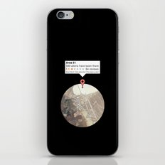 Area 51 reviews iPhone & iPod Skin
