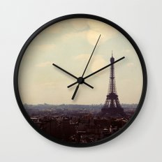 City of Light Wall Clock