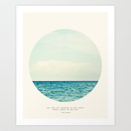 Salt Water Cure Art Print