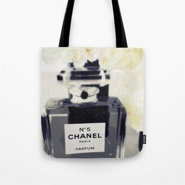 Black and White Coco Tote Bag