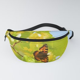 Blinding Butterfly Fanny Pack