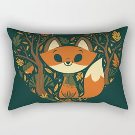 Foxy Heart Rectangular Pillow
