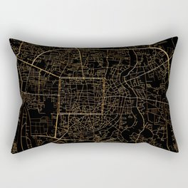Chiang Mai map, Thailand Rectangular Pillow