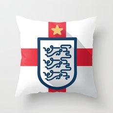 England Minimal Throw Pillow