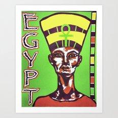 Egyptian Queen Art Print