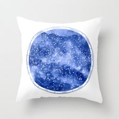 Northern Stars Throw Pillow