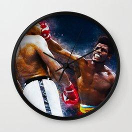 Leon Spinks Wall Clock