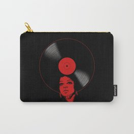 Afrovinyl (Red) Carry-All Pouch