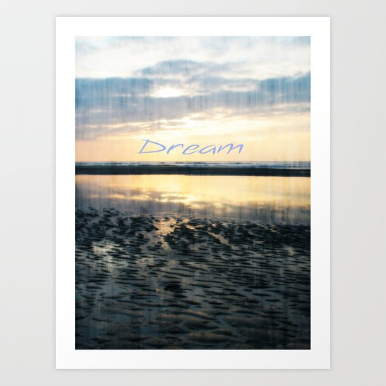 Dream  - JUSTART © Art Print