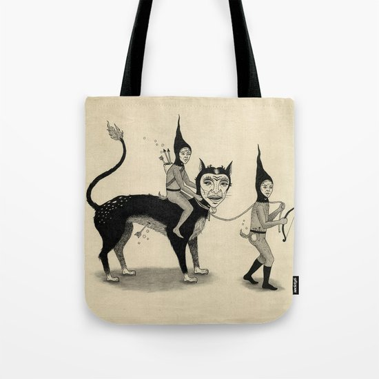 The Capture of the Beast Tote Bag