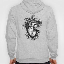 Stitched up anatomical heart Hoody