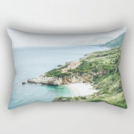 Beach - Landscape and Nature Photography Rectangular Pillow