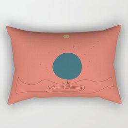 Dhyana mudra Rectangular Pillow