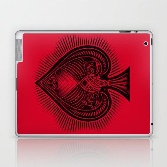 Lucky Spade Laptop & iPad Skin
