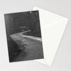 Faith not Sight Stationery Cards
