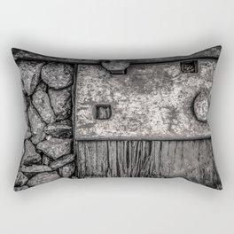 Railroad tie, California Rectangular Pillow