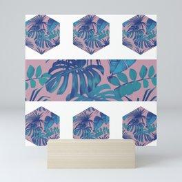 Botanical Hexagon Mini Art Print