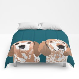 Molly and  Elwood Comforters