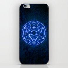 Human Transmutation Circle iPhone & iPod Skin