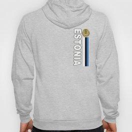 Estonia National Sports Jersey Style Hoody
