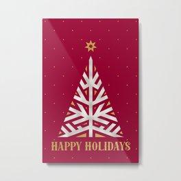 Happy Holidays Metal Print