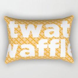twat waffle Rectangular Pillow