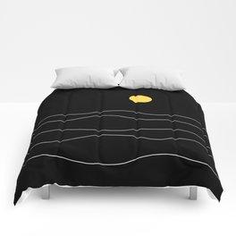 Black Ocean Comforters