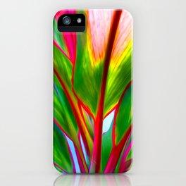Ti Leaf Series #4 iPhone Case
