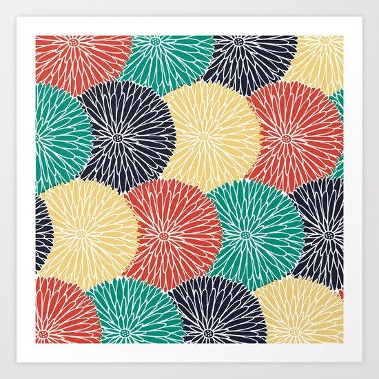 Flower Infusion 2 Art Print