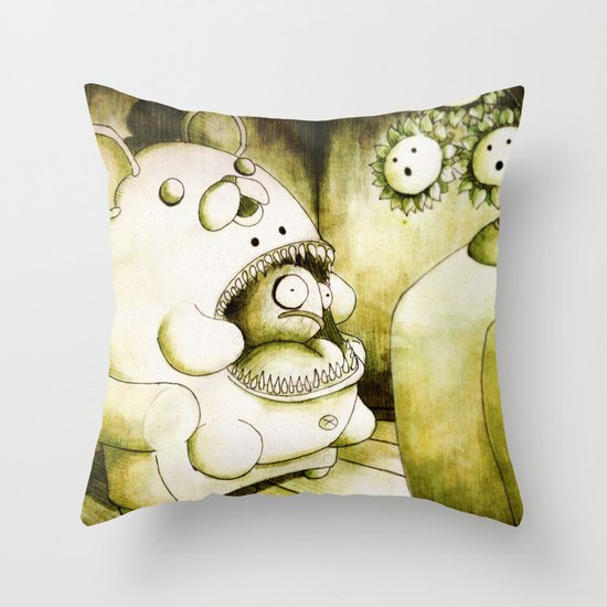 OrsoMariaPesce Throw Pillow