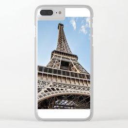Eiffel Tower (Print) Clear iPhone Case