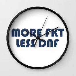 More FKT, Less DNF Wall Clock