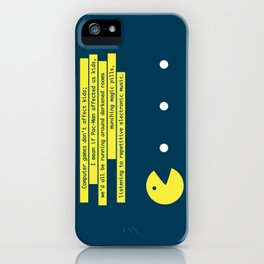 Computer Games Don't Affect Kids iPhone Case
