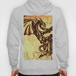Battling Dragons - Mythical Creatures Hoody