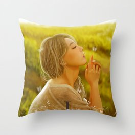 A Butterfly Me Throw Pillow