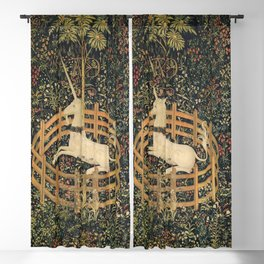The Unicorn In Captivity Blackout Curtain