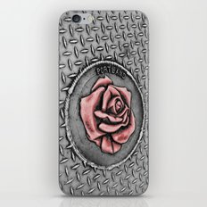 The rose beneith my feet iPhone & iPod Skin